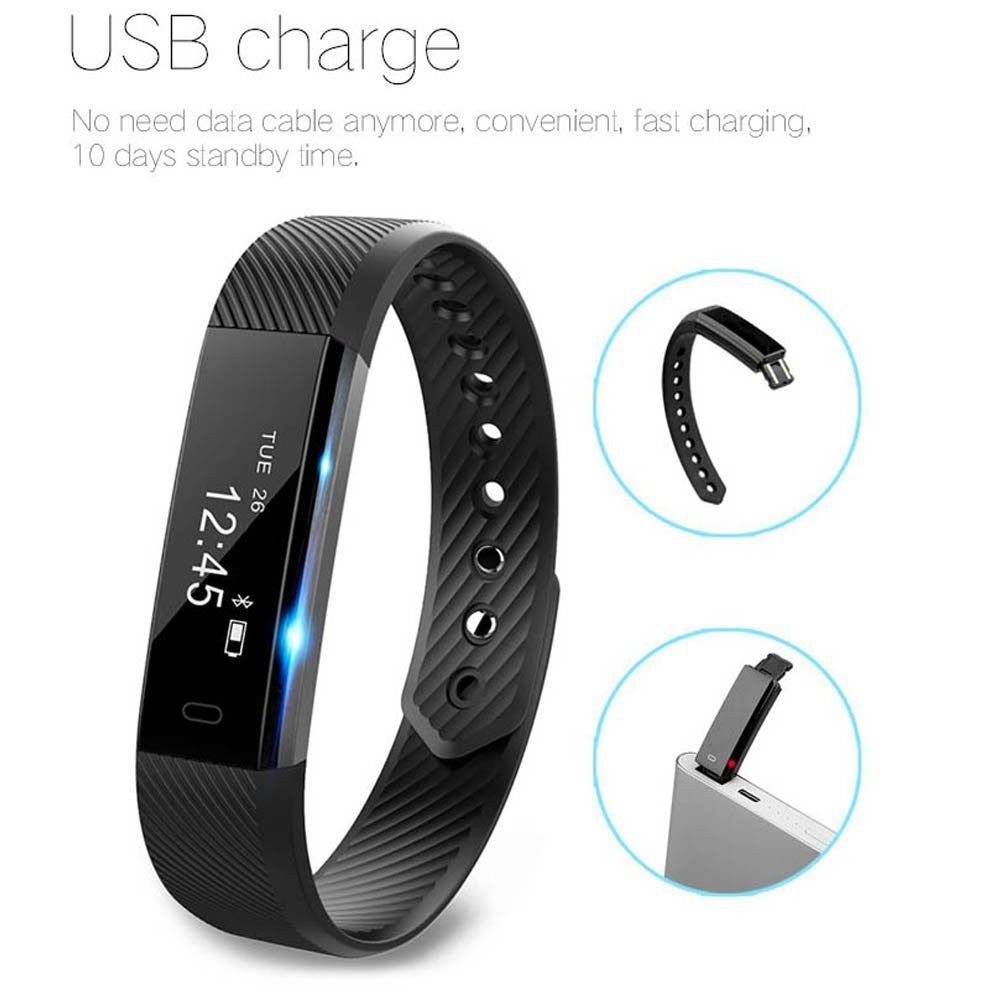 activity heart call tracker sedentary smart rate alert fitness bracelet bluetooth monitor