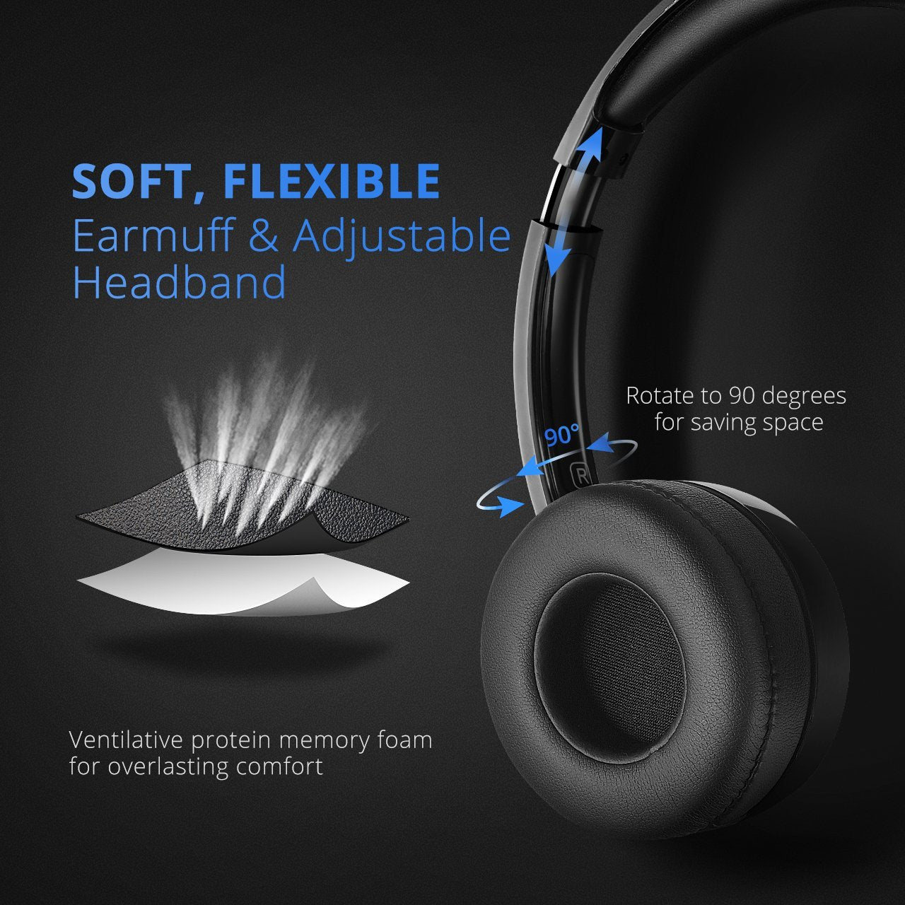 Mpow 071 USB Headset  3.5mm Computer Headset with Microphone Noise  Cancelling  8e6ea64214