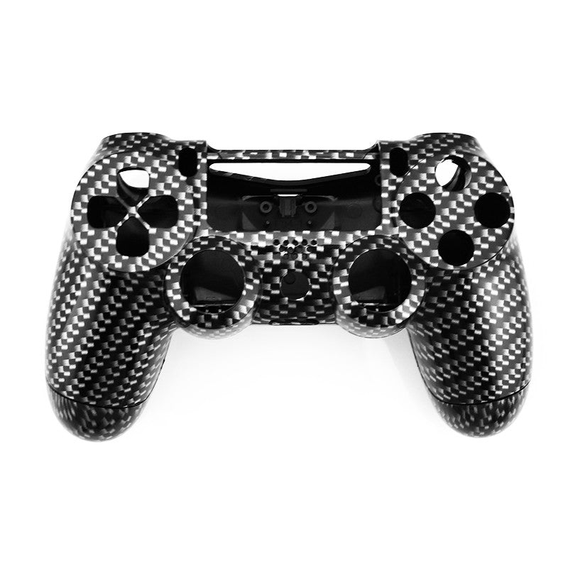 Custom Black Carbon Fiber Controller Replacement Shell For PS4