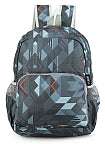 Lightweigh Geo Printed Packable Travel Backpack