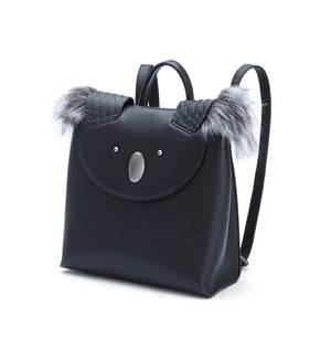 Genuine Leather Koala Multi-Function Backpack