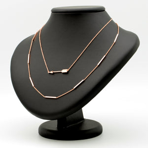 Arrowed Layering Necklace