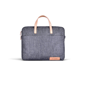 casual demin brief case