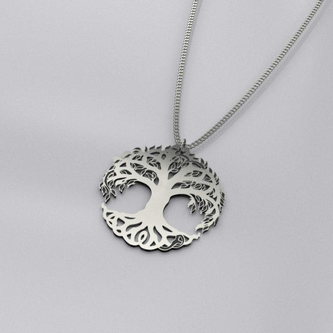 Image of Tree of Life Luxury Sterling Silver Pendant