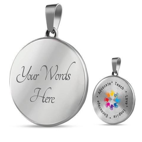 Image of Autism Advocate Luxury Necklace