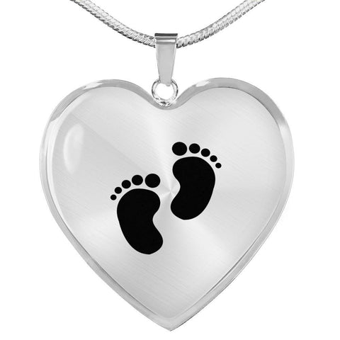 Image of Baby Feet Luxury Penant - Print Fads