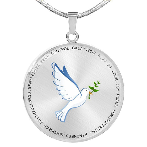Image of Fruit Of The Spirit Pendant - Print Fads