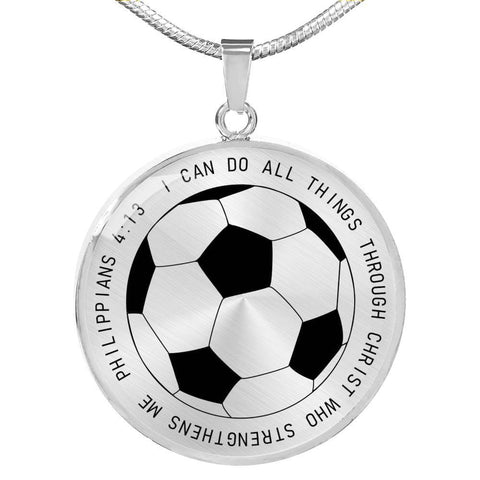 Image of I Can Do All Things Luxury Pendant Necklace - Print Fads