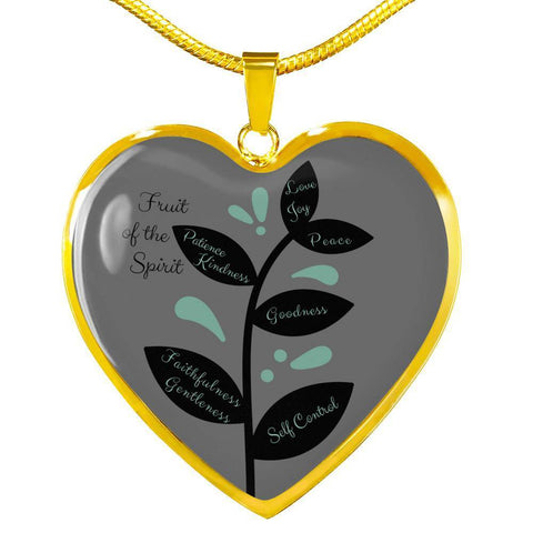 Fruit of the Spirit Luxury Necklace - Print Fads