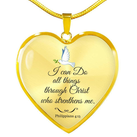 I Can Do All Things Necklace - Print Fads