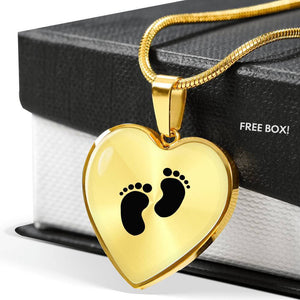 Baby Feet Luxury Penant - Print Fads
