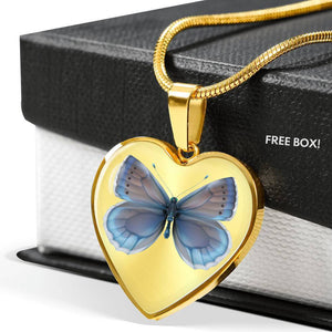 Butterfly Necklace - Print Fads