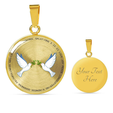Image of Fruit Of The Spirit Luxury Pendant - Print Fads