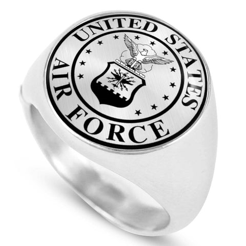 Air Force Signet Ring - Print Fads