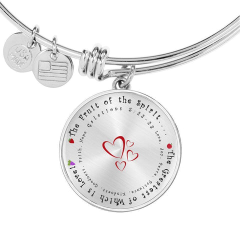 Fruit of the Spirit Bangle - Print Fads