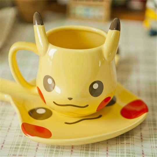 Kawaii Pikachu Mug Set