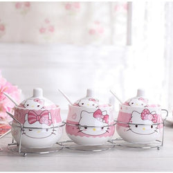 Hello kitty Condiment Bowl Set