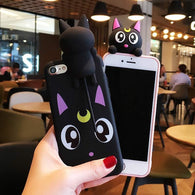 Lovely Luna iPhone Case