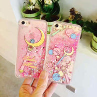 Quicksand Sailor Moon iPhone Cases