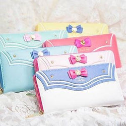 Sailor Moon Kawaii Long Zipper Wallet