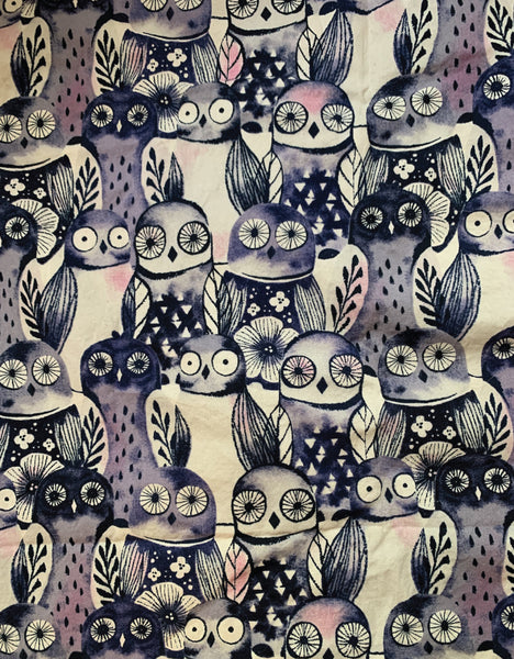 Little Kid Face Mask Wise Owls