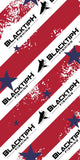 Patriotic 4th Of July BlacktipH Neck Scarf
