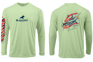 BlacktipH Marlin Performance Shirt - 4th of July Edition