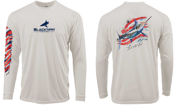 BLACKTIPH MARLIN PERFORMANCE SHIRT- 4th OF JULY EDITION