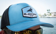 BlacktipH Columbia Blue Snapback Hat