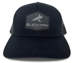 BlacktipH Midnight Black Snapback Hat