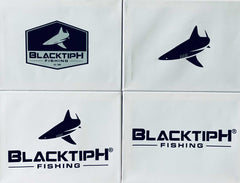 BlacktipH Die Cut Decals- 4 Pack