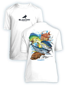 BLACKTIPH YOUTH PERFORMANCE SHORT SLEEVE GRANDSLAM FEATURING STEVE DIOSSY ART