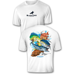 BlacktipH Performance Short Sleeve Grand Slam Featuring Steve Diossy Art