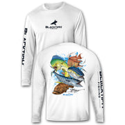 BlacktipH Performance Long Sleeve Grandslam Featuring Steve Diossy Art