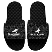 BlacktipH Black/Patterned Slides
