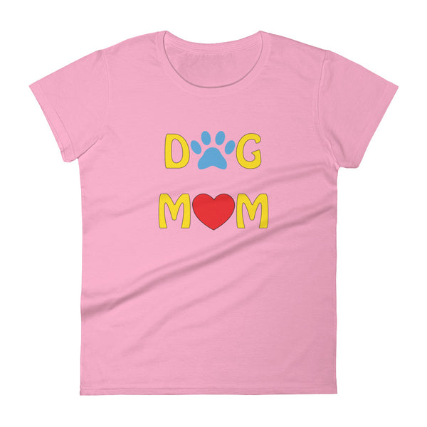 Dog Mom Women's short sleeve t-shirt