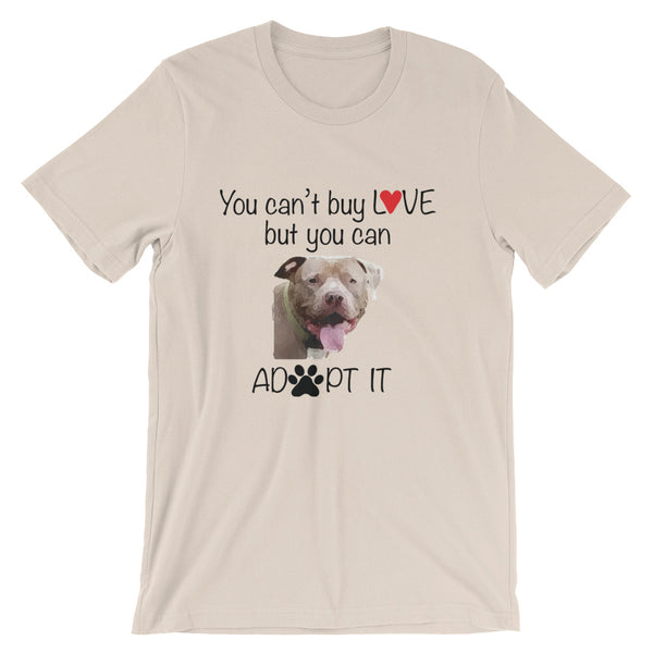 Adopt Love Short-Sleeve Unisex T-Shirt