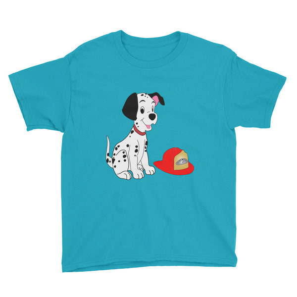 Dalmatian Fire Chief Youth Short Sleeve T-Shirt