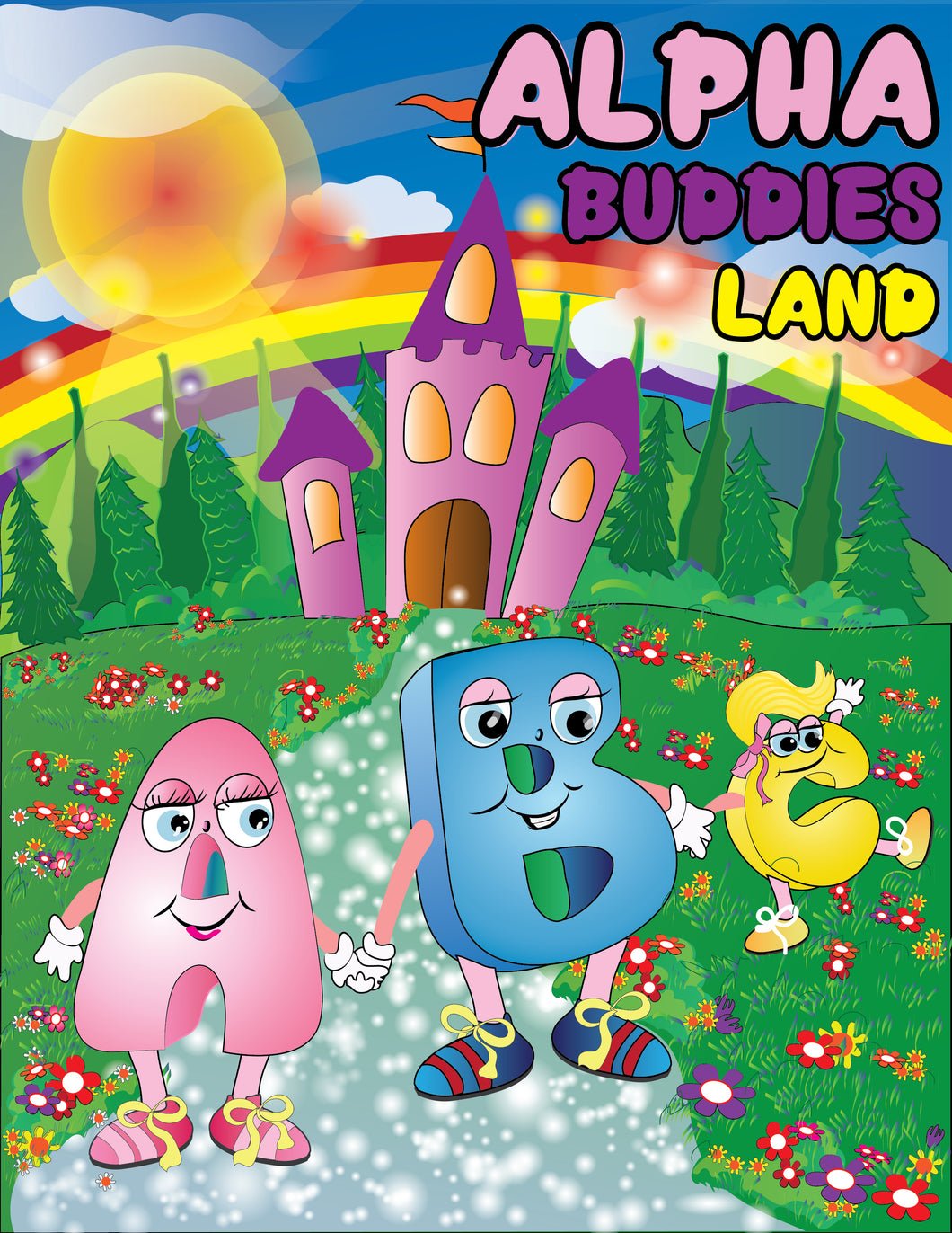 Alpha Buddies Land Picture Book
