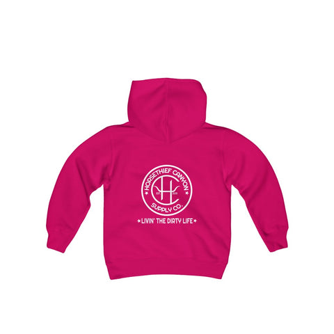 "HTC-""Livin' the Dirty Life"" - Youth Gildan Hoodie"