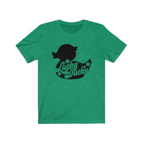 Lucky Ducky St. Patty's Day Tee - Jersey Short Sleeve