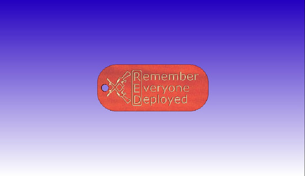 Remember Everyone Deployed Keychain