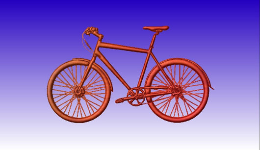 Bicycle 3D CNC Vector Art Model -  3D CNC Vector Art