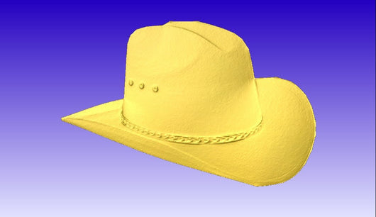 Cowboy Hat Relief Vector Model -  3D CNC Vector Art