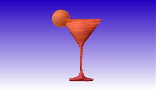 Margarita Vector Relief Model -  3D CNC Vector Art