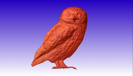 Owl cnc stl Model -  3D CNC Vector Art