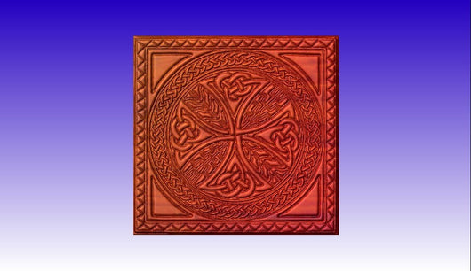 Celtic Pattern CNC Relief Art -  3D CNC Vector Art