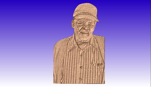 Tyrone's Vector Relief Models -  3D CNC Vector Art