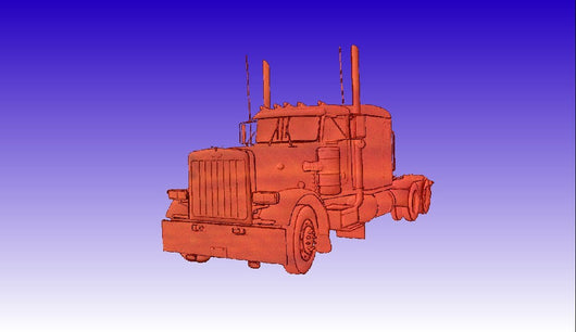 Peterbilt -  3D CNC Vector Art