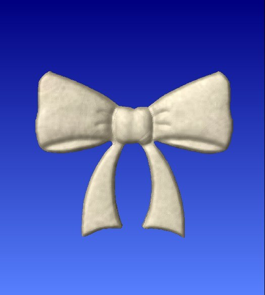 Bow Vector Art Model -  3D CNC Vector Art